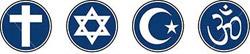 religious symbols faith logos
